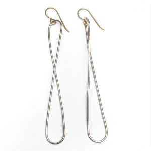 Figure Eight Earrings by Vanessa Gade