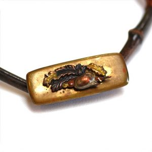 Japanese Tobacco Pouch Pendant by Robert Liu