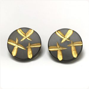 Shooting Stars Post Earrings by Karen McCreary