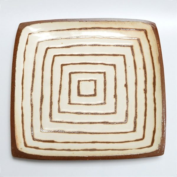 Square Serving Platter by Courtney Martin