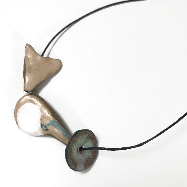 Three Piece Pendant by Roksana Pirouzmand