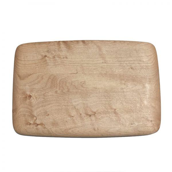 rectangular wood cutting board