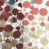"""""""Circles in Net"""" wall hanging"""