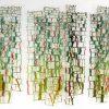 """Horizontal and Wavy Lines (III)"" wall hanging"