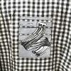 Black and White Blouse/Jacket (Large)